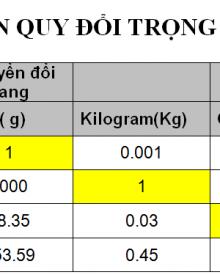 1 lbs bằng bao nhiêu kg? pound to kg và kết quả