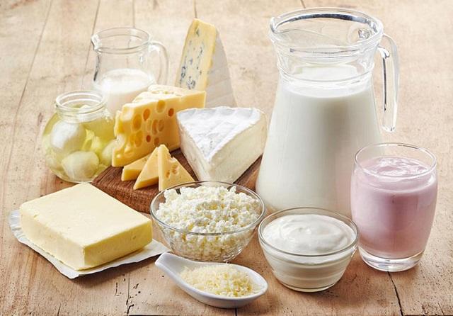 Bổ sung Protein từ sữa và thực phẩm làm từ sữa