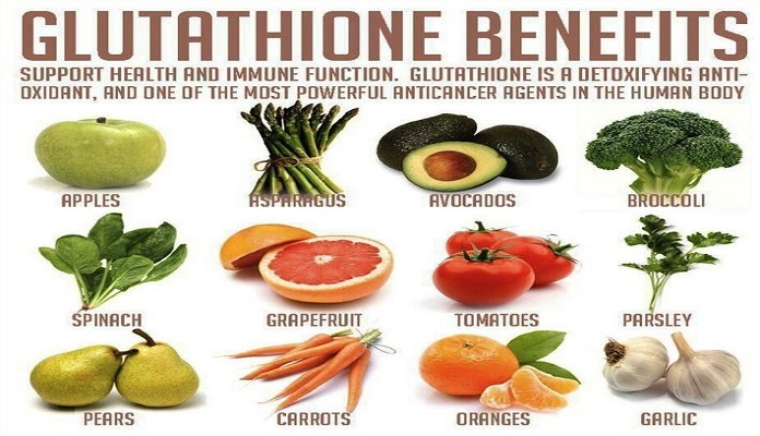 Nhóm thực phẩm tăng cường quá trình tổng hợp glutathione tự nhiên trong cơ thể