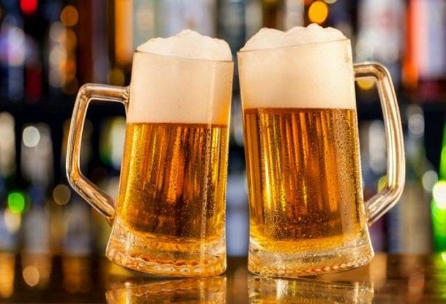 Có thể uống vang đỏ nhưng nói không với bia